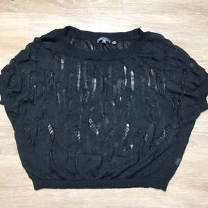 Vince Distressed Knitted Sweater